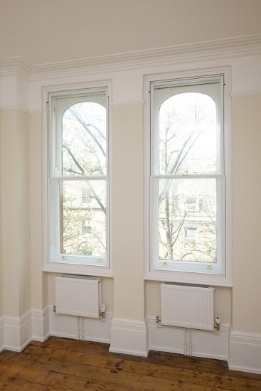 Sash secondary glazing