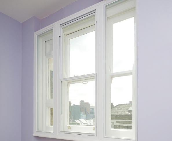 Secondary glazing on sash windows