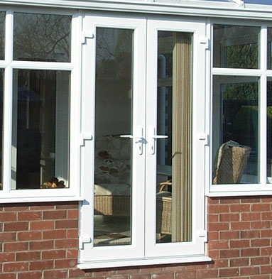 Upvc sliding patio doors in lincoln cliffside windows for French door styles exterior