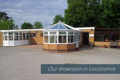 Our showroom in Lincolnshire