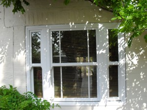 mock sash window