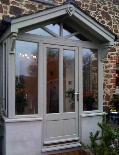 Porch Installation Cliffside Windows
