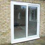 White uPVC Sliding Doors