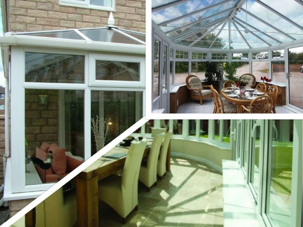Conservatory collage